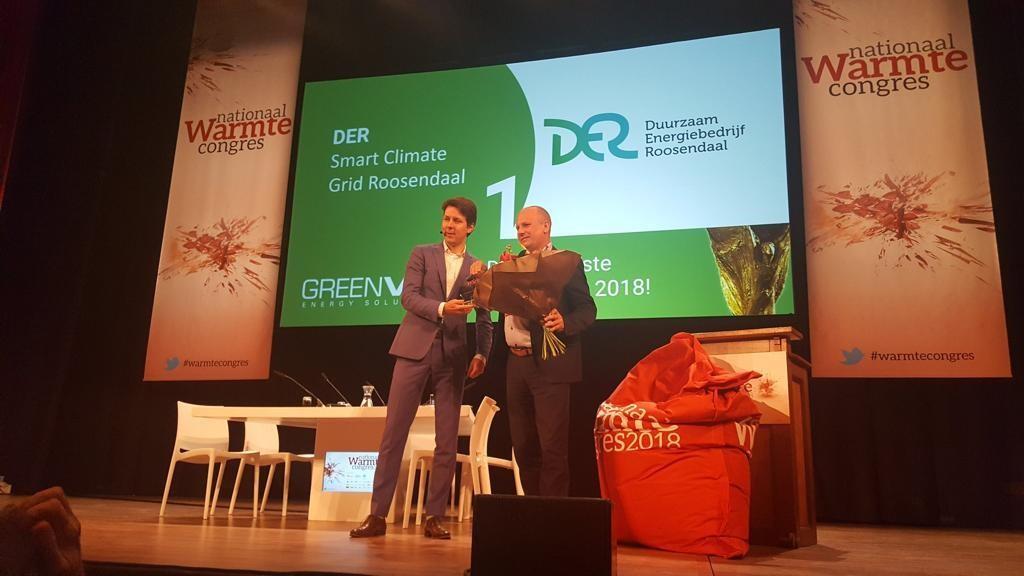 DER Uitgeroepen Tot Duurzaamste Warmtenet Van Nederland 2018